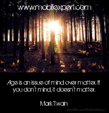 Aging Quote by Mark Twain