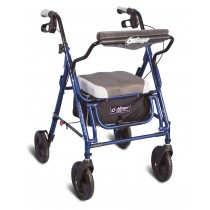 Rollator-Transport chair combo
